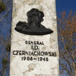 Trwa obrona pomnika generała Czerniachowskiego