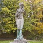 Kolejny akt wandalizmu w olsztyńskim parku Podzamcze