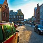 Samochodem po olsztyńskim Starym Mieście