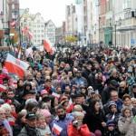 Ulicami Elbląga przeszedł Marsz Niepodległości
