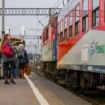 Dłuższa podróż pociągiem Olsztyn- Iława- Gdynia