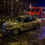 Wypadek na ul. Krasickiego w Olsztynie