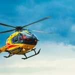 Poważny wypadek w Kromerowie. Ciężko ranna kobieta została przetransportowana do szpitala