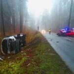 Wypadek pod Olsztynem na DK 51