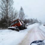 Niebezpiecznie na drogach Warmii i Mazur. W wielu miejscach nawierzchnie są bardzo śliskie