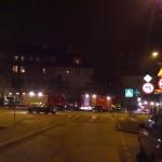 Pożar przy ul. Jagiełły w Olsztynie i Parlezie Wielkiej