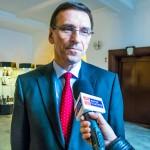 Piotr Grzymowicz: tramwaj pojedzie we wrześniu 2015 roku