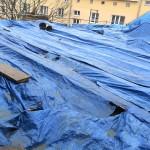 Silna wichura zrywała dachy i łamała drzewa