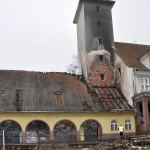 Brak pieniędzy na remont spalonego gimnazjum