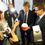 Prezes PZPN stawia Olsztynowi za wzór Ostródę