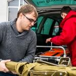 W Elblągu zbierają dary na rzecz mieszkańców Ukrainy