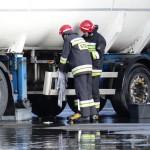 Rozszczelnienie cysterny z gazem w Braniewie