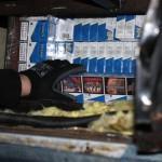 Straż graniczna odebrała kolejne nielegalne papierosy