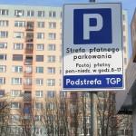 Płatne parkowanie przy ulicy Na Skarpie