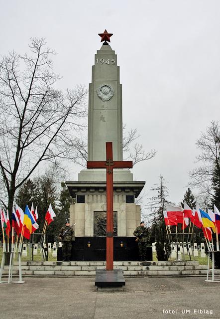 Pomnik Wdzięczności Armii Czerwonej w Elblągu