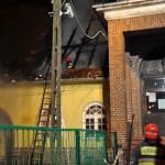 Trwa szacowanie strat po pożarze w gimnazjum w Lidzbarku