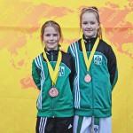 Olsztyńskie taekwondzistki zdobyły 3 medale