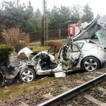 Śmiertelny wypadek na przejeździe w Wilimowie