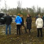 Wizja lokalna na składowisku odpadów w Prostkach