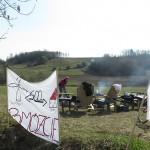 Policja usunęła protestujących na Świętej Górze