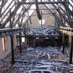 Mieszkańcy Klonu odbudują spalony kościół