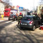 Zderzenie na Wojska Polskiego w Olsztynie