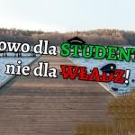 Kortowo dla studentów, nie dla władz