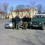 Ćwiczenia Straży Granicznej w Kętrzynie