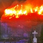 Spłonął dom w Stępniu