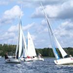 Wodne karetki od początku lata wyruszały prawie 150 razy, by pomóc żeglarzom na mazurskich jeziorach