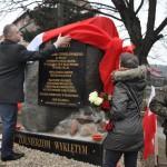 Zdewastowano pomnik Żołnierzy Wyklętych w Wydminach