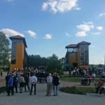 Otwarcie tężni w Gołdapi