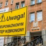 Remont Sądu Rejonowego w Olsztynie z problemami