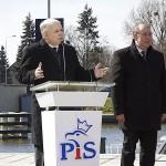 Jarosław Kaczyński w Elblągu