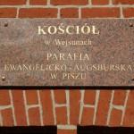 Zabytkowy kościół luterański w Wejsunach odzyska dawny blask