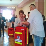 + Sołtysi uczą się udzielania pierwszej pomocy