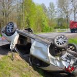 Weekend na drogach WiM: 1 osoba nie żyje, 10 rannych