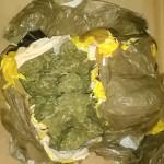 CBŚ skonfiskowało prawie 4 kg marihuany prosto z Holandii