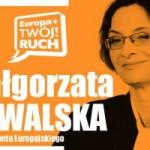 Małgorzta Kowalska: zbliżyć regiony do Europy