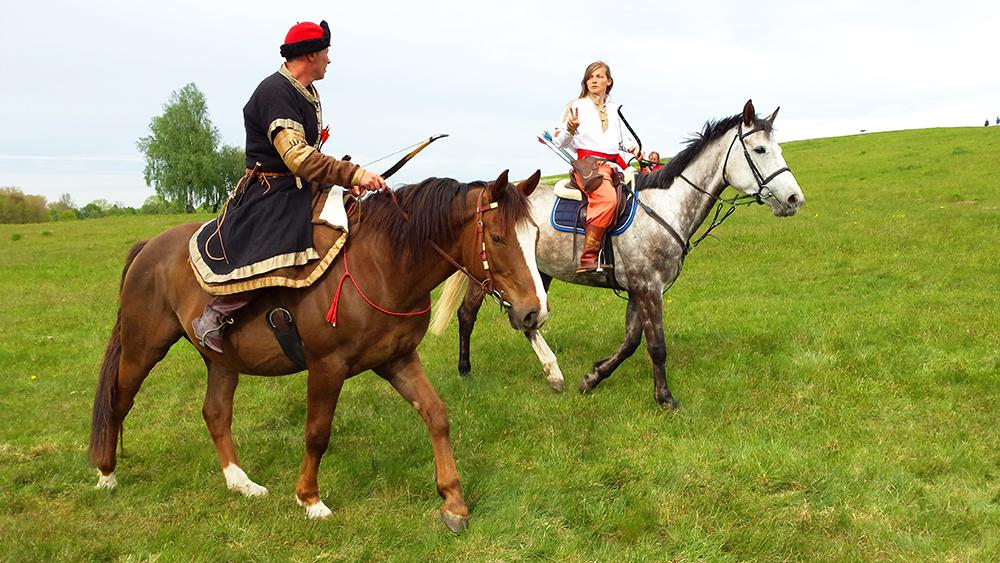 Лучники на лошадях посетят реконструкцию Битвы под Грюнвальдом на майские праздники
