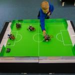 Dzieci poznawały świat robotów