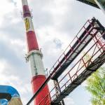 Czystszy dym z komina olsztyńskiej ciepłowni