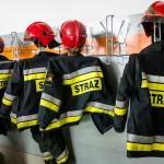 Pożar domu wielorodzinnego w powiecie iławskim