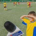 Młodzi piłkarze walczą o puchar Legii Warszawa
