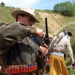 Westernowe zawody strzeleckie w Mątkach