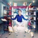 Biblioteka w Morągu udowadnia, że potrafi zacierać dwa światy