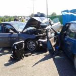 Jechał pod prąd doprowadzając do zderzenia 4 aut