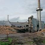 Mimo pożaru pracownicy stolarni w Samławkach nie stracą pracy