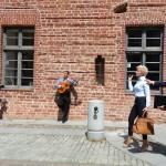 Romanca kręci na olsztyńskiej Starówce nowy teledysk