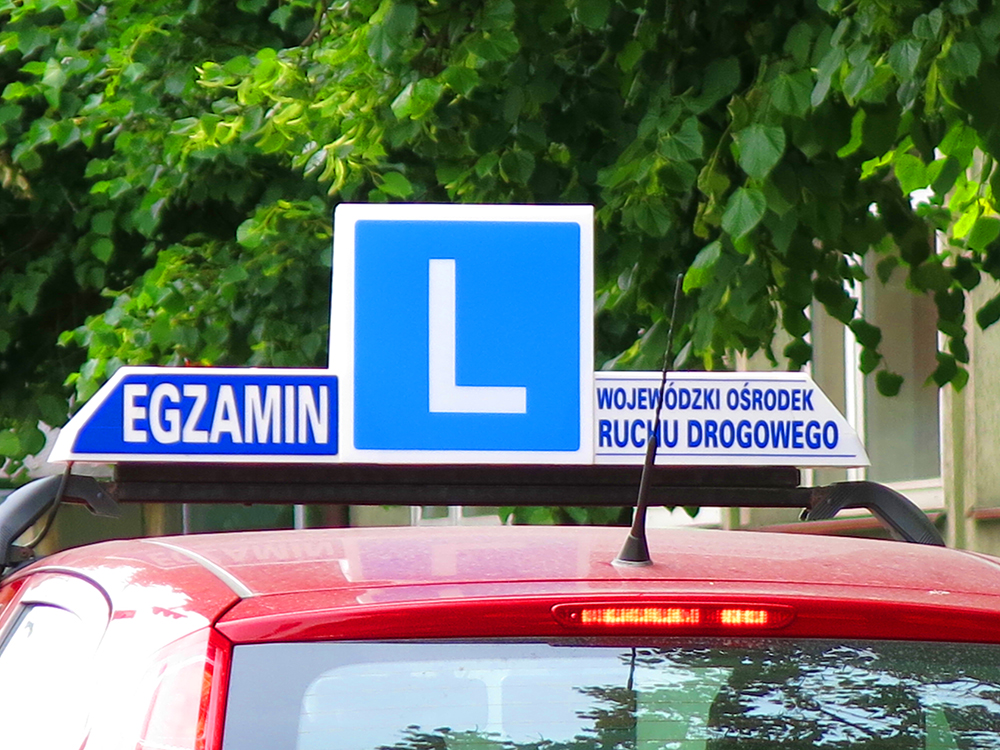 Egzamin na prawo jazdy. Fot. Łukasz Węglewski